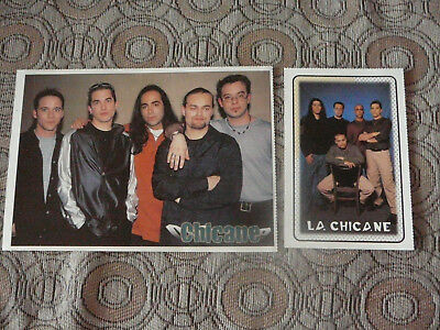 LA CHICANE BOOM DESJARDINS PHOTO AFFICHE 5.5 x 7.5 + 1 CARD CLIPPINGS