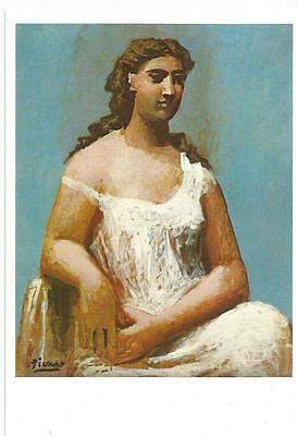 PK - Pablo Picasso - Seated Woman in a Chemise 1923  Öl  Tate Gallery London neu