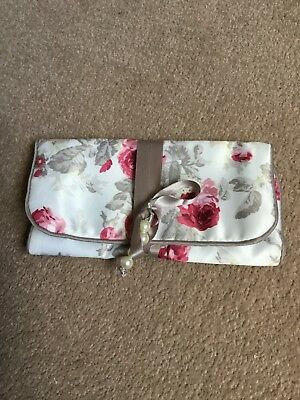 Laura Ashley Fabric Jewellery Roll New Without Tags