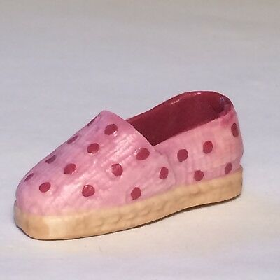 Feve  Chaussure  Espadrille  Rose  A  Pois  -  Recto / Verso