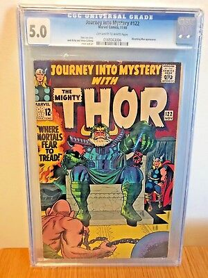 Thor (1st Series Journey Into Mystery) #122 1965 CGC 5.5