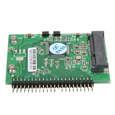 MSATA Mini PCI-E SSD to 1.8inch 44 Pin IDE Adapter Hard Disk Conve
