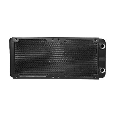 G1/4 18Tubes 240mm Aluminum Computer Radiator Water Cooling F