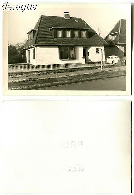Vintage Photo from 1963 House, vw beetle volkswagen