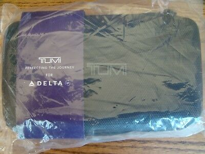 Delta One Business Elite First Class TUMI Hard Case Amenity Kit New, Sealed