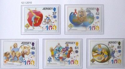 Jersey 2010 Centenary of the Girl Guides MNH (5)