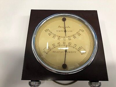 Airguide Relative Humidity & Temperature Indicator Fee & Stemwedel Chicago USA