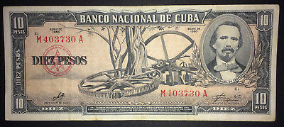1960 signed CHE Guevara as President of National Bank ~ Carlos Manuel Cespedes