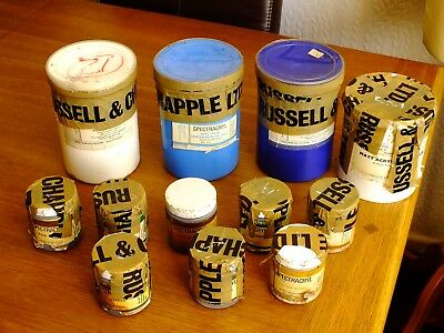 Job Lot Of Spectrum Artist Acrylic Colours From Russell & Chapple