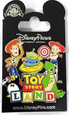Disney Parks Toy Story Land Trading Pin Authentic Original New Free Shipping