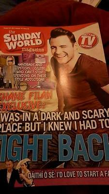 Shane Filan Sunday World Magazine August 2013  Westlife