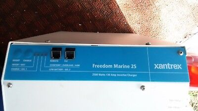 Charger.  Marine Charger.  Xantrex Inverter Charger.   2500 W/130 A.