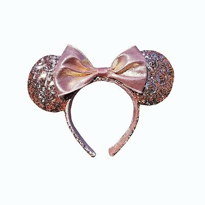 Minnie Mouse Ears Rose Gold Walt Disney World Authentic Merchandise