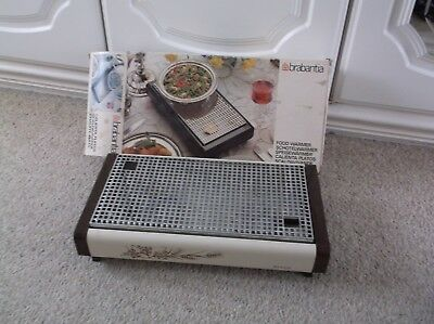 Balmy Evenings? Boxed Brabantia  2 Candle Hot Plate/ Food Warmer Simple To Use