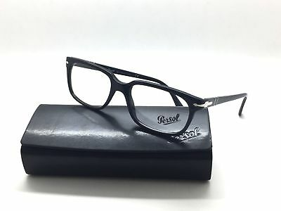 33cafabda052e Persol Po 3131-V 95 Black Authentic Eyeglasses Rx Po3131V 54-18-145