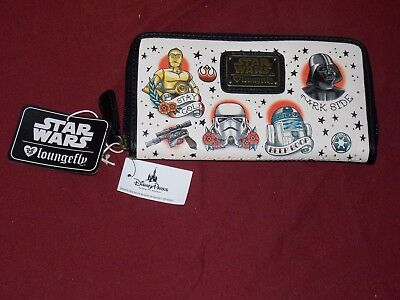 Authentic Disney Parks Star Wars Color Comic Print Wallet by Loungefly New