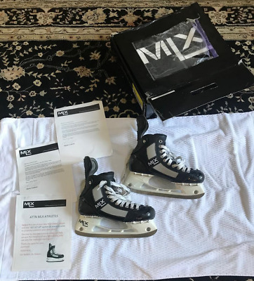 MLX  WITH BOX AND PAPERS ICE HOCKEY SKATES LEMIEUX SIZE 8 men's