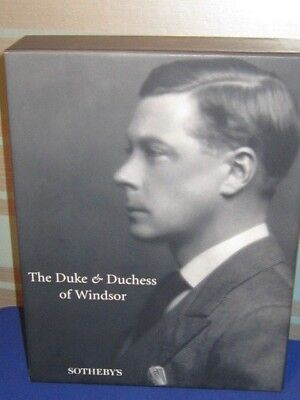 Duke and Duchess of Windsor Sotheby's New York Auction Catalogue Excellent Cond