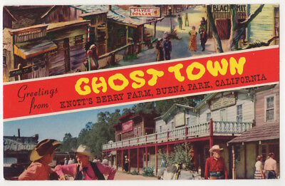 Knott's Berry Farm Ghost Town Greetings From pc, Main Street, School House Road