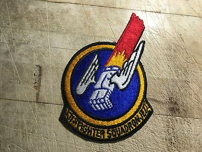 Post WWII 1949 US AIR FORCE PATCH-171st Fighter Squadron JET-ORIGINAL USAF!