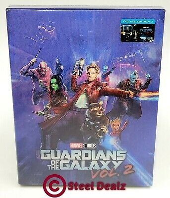 GUARDIANS OF THE GALAXY VOL 2 [2D + 3D] Blu-ray STEELBOOK [FILMARENA] <#083/600>