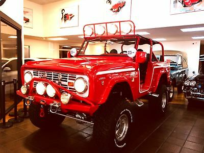 Ford Bronco San Diego | Exotic Classic USA  1966 FORD BRONCO $115K+ BUILD BEST OF SHOW TRUCK U13!