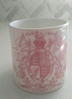Antique Coronation Mug King Edward Vii June 1902