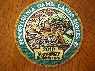Pa Pennsylvania Game Commission Hunting Patch  2010  Fawn  Game Lands  Series