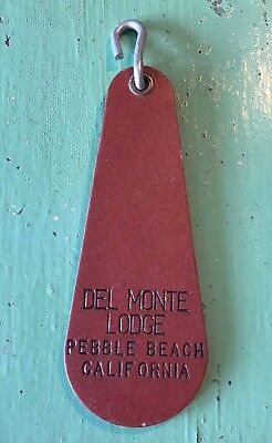 Vintage Del Monte Lodge Pebble Beach California Room Key Fob - Rare!