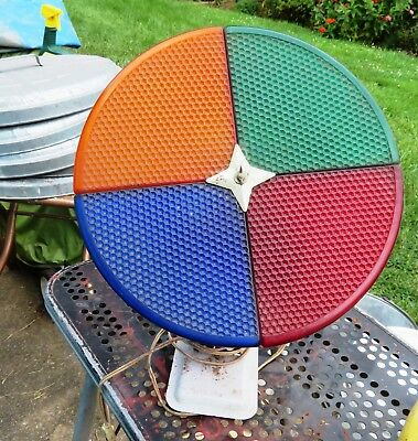 Vintage Penetray Color Wheel For Aluminum Christmas Tree Works