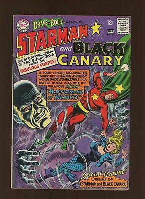 Brave and the Bold 61 FN 6.0 * 1 Book Lot * Origin of Starman & Black Canary!