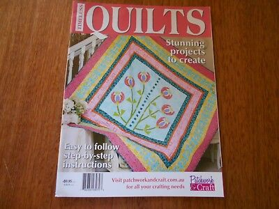 Timeless Quilts Magazine - Stunning Projects To Create - Good Condition -