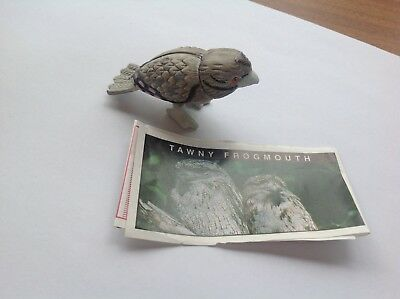 Yowie Collectible Toy Series 2 1998 Tawny Frogmouth Scientific Papers