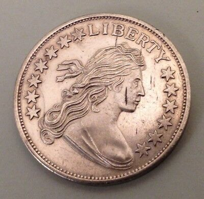 Vintage One troy ounce .999 silver coin