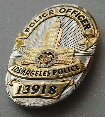 Police Officer (13918) Police Movie Prop Badge - Great Collectors Badge