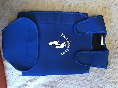 Two Bare feet Body Warmer Baby 6-12 Months