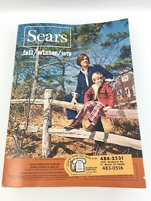 Vintage 1975 Sears Fall & Winter catalog Midwest Edition #3603