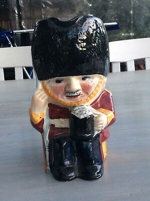 Antique Shorter & Sons Toby/character English Guard Jug - Staffordshire