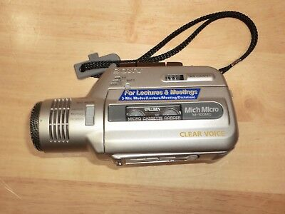 Sony Mic'n Micro M-100MC Handheld Microcassette Recorder (Tested)
