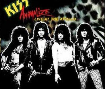 KISS Animalize at the Apollo 1984 gelbes Vinyl 500 copies only