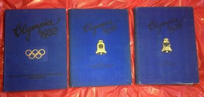 Olympic Games 1932 Los Angeles 1936 Germany Olympia 3 Photo Albums
