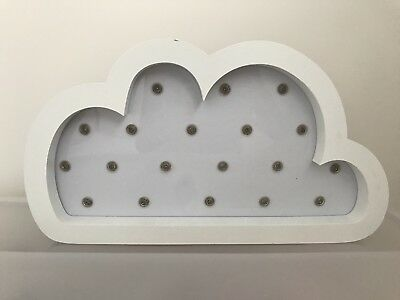 Adairs Nursery Wall Decor/Night Light