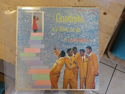 The Spaniels: Goodnite, it`s time to go RARE ORIGINAL VEE JAY LP 1002