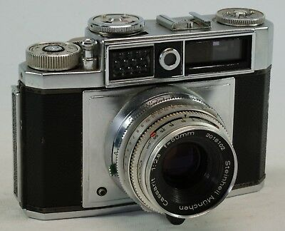 Vintage Paxette Colorette Super 11L 35mm, Working