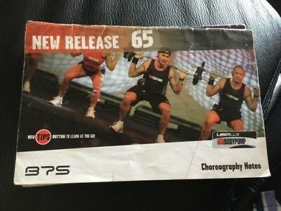 Les Mills Bodypump 65 Instructor Cd And Notes (No Dvd)