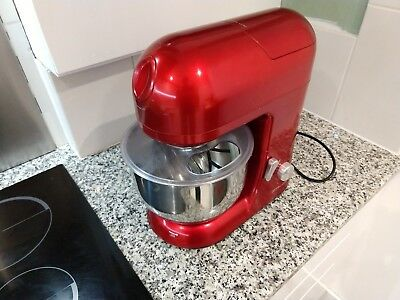 Andrew James 5.2L stand mixer, with attachments & blender, used, good condition