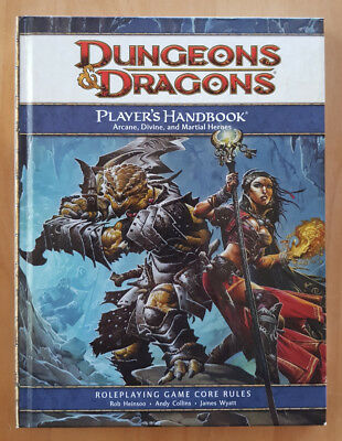 Dungeons & Dragons  4th Edition  Players Handbook  Core Rules