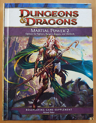 Dungeons & Dragons 4th Edition Martial Power 2 Core Rules