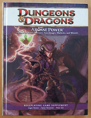Dungeons & Dragons   4th Edition   Arcane Power  Game Supplement