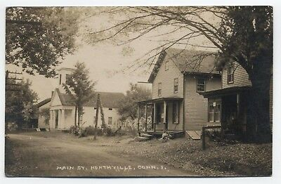 CT ~ RPPC Church, PO, Homes NORTHVILLE (New Milford) Connecticut 1920 Litchfield